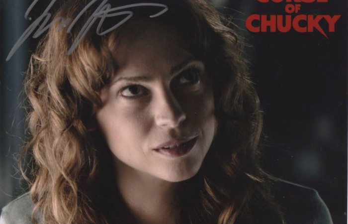 Signed 8x10 Fiona Dourif (Curse of Chucky) B