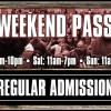 Weekend Admission