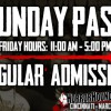 Sunday Admission