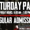 Saturday Admission