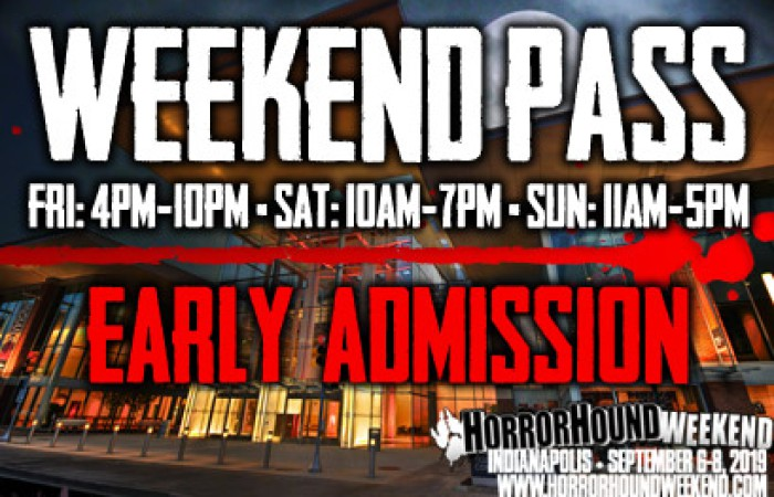 Weekend Admission Early Entry - Indy 2019
