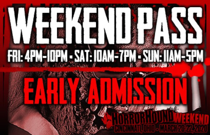 Weekend Admission Early Entry