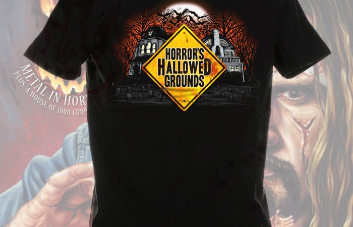 Horrors Hallowed Grounds T-Shirt