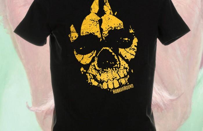 Skull Paw Print T-Shirt