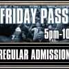 Friday Admission