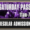 Saturday Admission