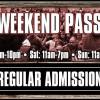 Weekend Admission