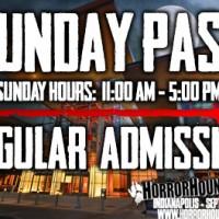 Sunday Admission - Indy 2019