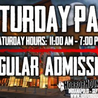 Saturday Admission - Indy 2019