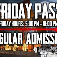 Friday Admission - Indy 2019