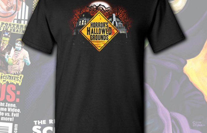 Horror's Hallowed Grounds T-Shirt