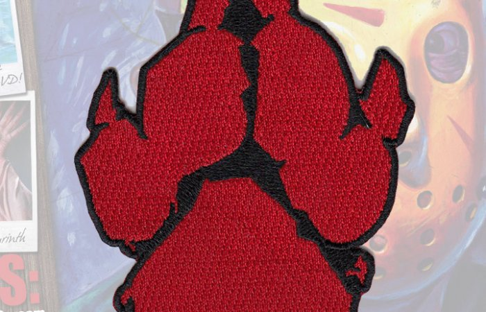 Paw Print Patch