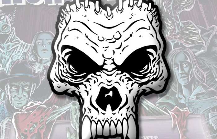 "HorrorHound ""Skull"" Pin"