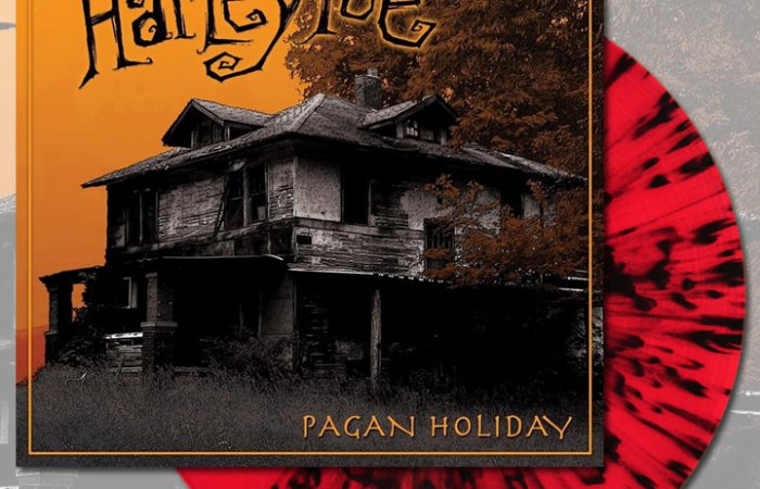 Harley Poe - Pagan Holiday - Red Swirl Vinyl