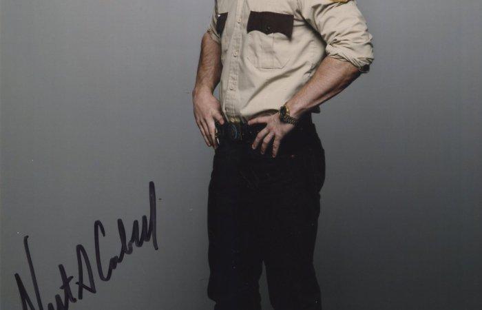 Signed 8x10 Nestor Carbonell (Bates Motel)