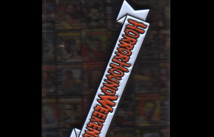 HorrorHound Weekend Retro Logo Pin (Red)