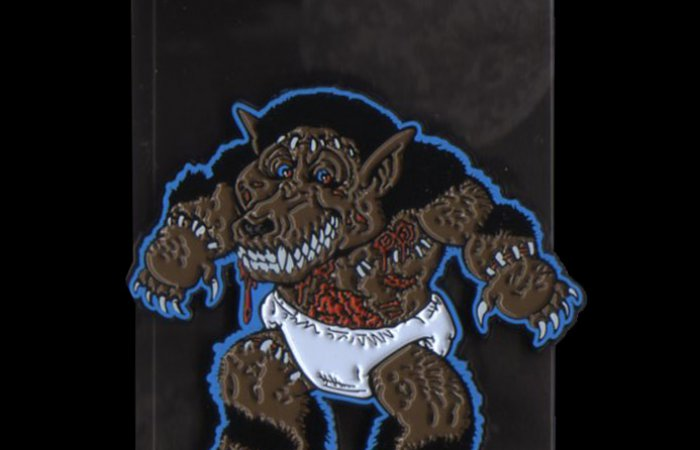 "HorrorHound Weekend ""Toon"" Hound Pin (Blue)"