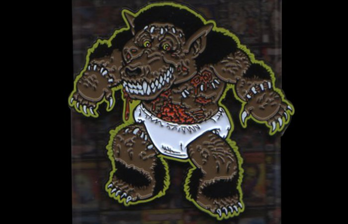 "HorrorHound Weekend ""Toon"" Hound Pin (Yellow)"