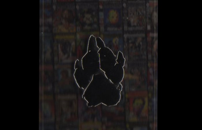 "HorrorHound ""Black Paw"" Pin"