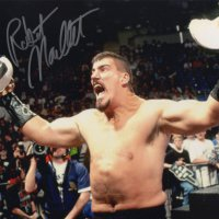 Signed 8x10 Robert Maillet (Wrestler)
