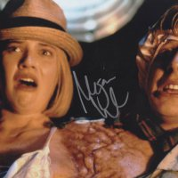 Signed 8x10 Megan Ward (Freaked) B