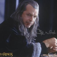 Signed 8x10 John Noble (Lord of the Rings) B