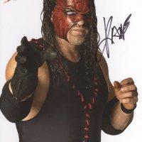 Signed 8x10 Kane (Glenn Jacobs) WWE