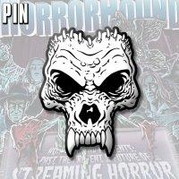 "HorrorHound ""Skull"" Pin"