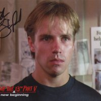 Signed 8x10 John Shepherd (Friday the 13th) A