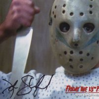 Signed 8x10 John Shepherd (Friday the 13th) B