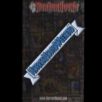 HorrorHound Weekend Retro Logo Pin (Blue)